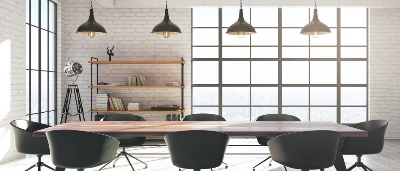 Clean and healthy commercial office space